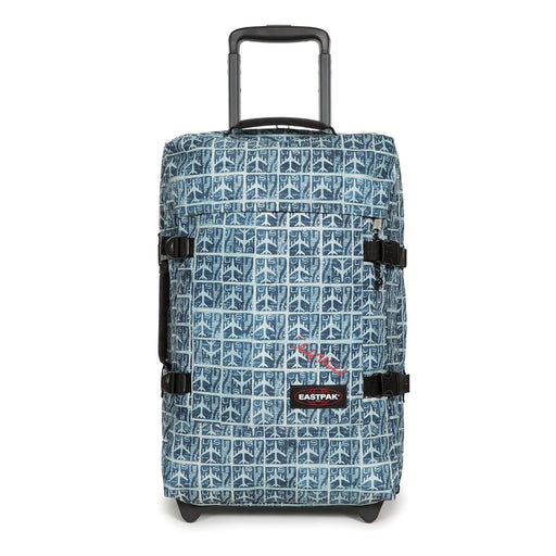 Eastpak Tranverz Small Luggage Bag - Andy Warhol Airmail - EK61L59V
