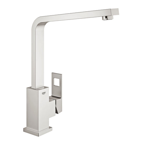 Grohe Eurocube Single Lever Kitchen Faucet - Supersteel - 31255DC0