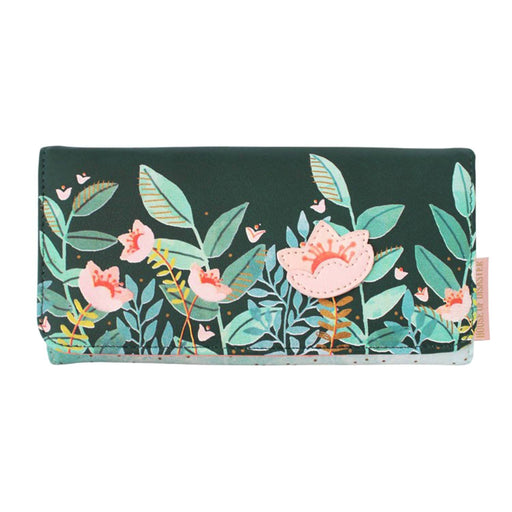 Disaster Designs Secret Garden Fox Wallet - Green - SECWALFOX