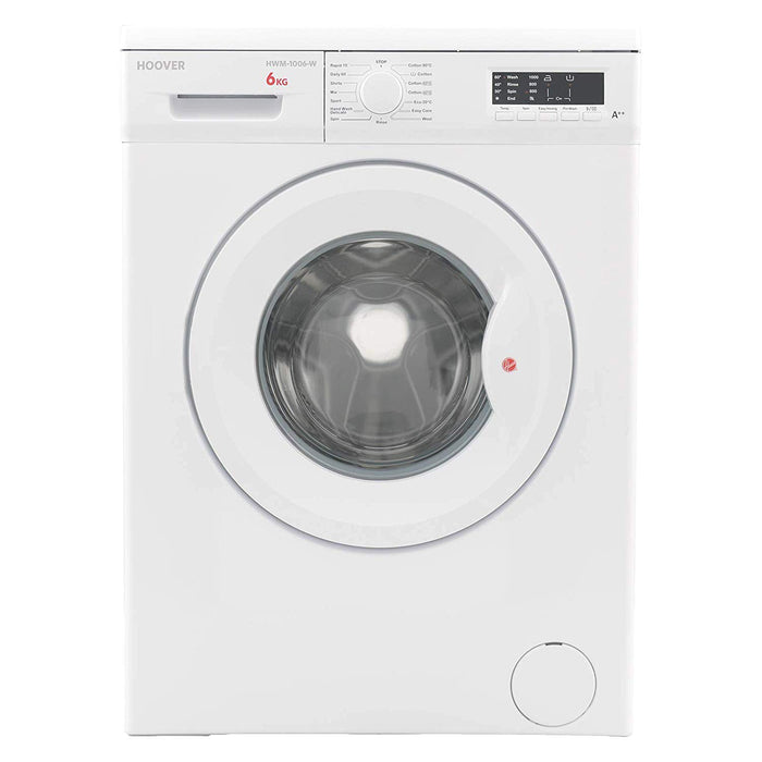 Hoover 6 kg Washing Machine with LED Indicator - HWM-1006-W
