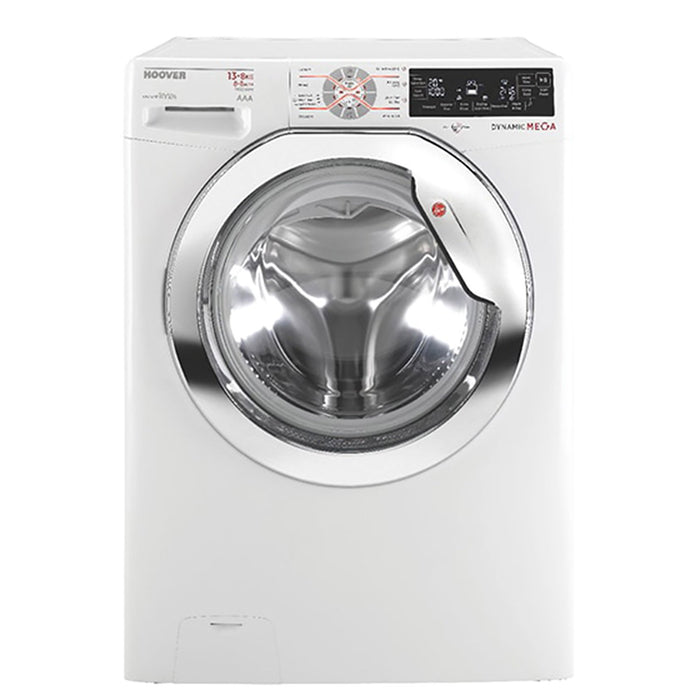 Hoover Washer Dryer - Silver - WDMT4138AHS/1-04