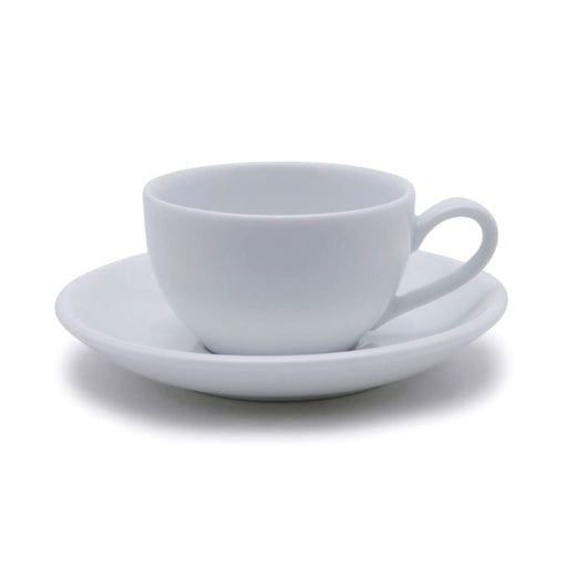 Dankotuwa Cup and Saucer - White, 12.3 cm - 3692/3693