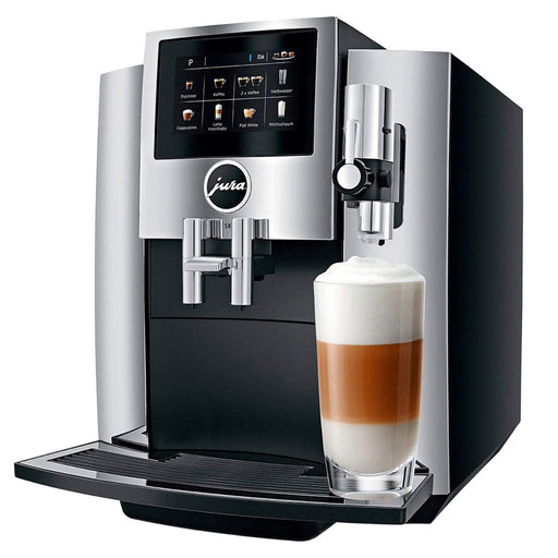 Coffema General Jura S8 Coffee Machine - Chrome and Black - S8