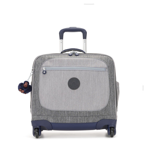 Kipling Manary-Wheeled School Bags-Ash Denim Bl-15380-78H