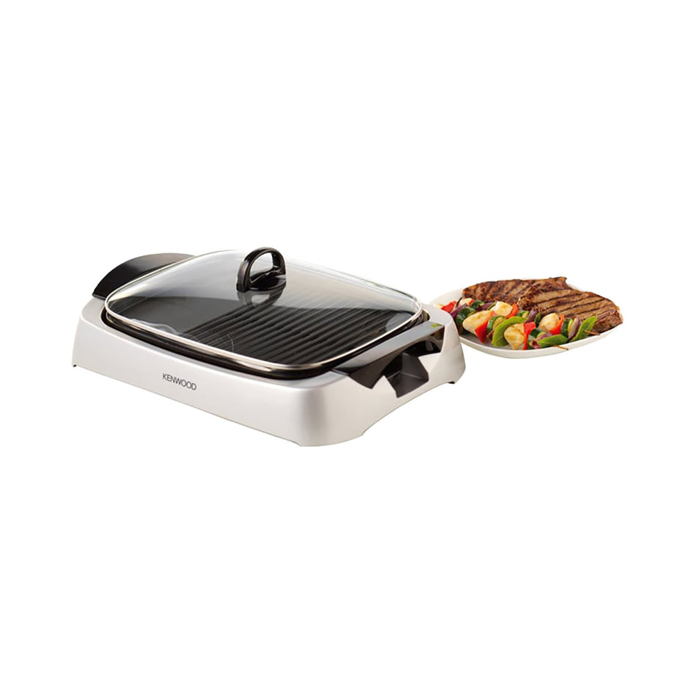 Kenwood Health Grill - Silver - HG266