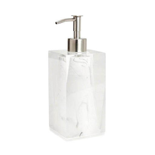 Kassatex Ducale Resin Marble Lotion Dispenser - ADE-LD-WB