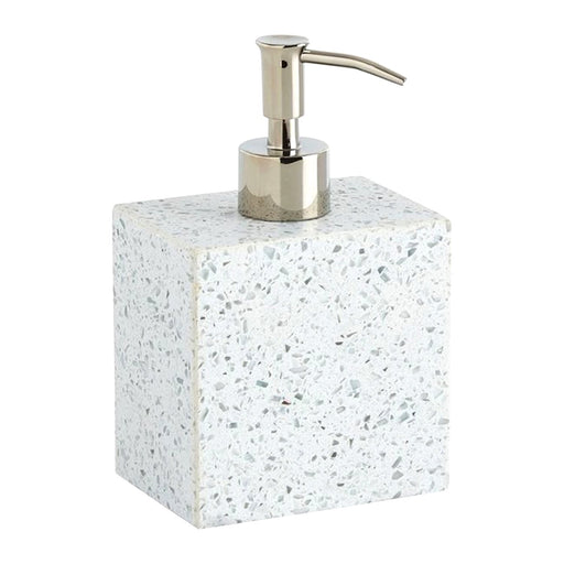 Kassatex Terrazo Natural Stone Lotion Dispenser - ATZ-LD-LGY