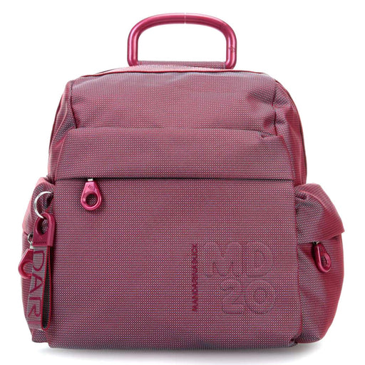 Mandarina Duck MD20 Tracolla Backpack - Red Plum, Small - P10QMTT122T