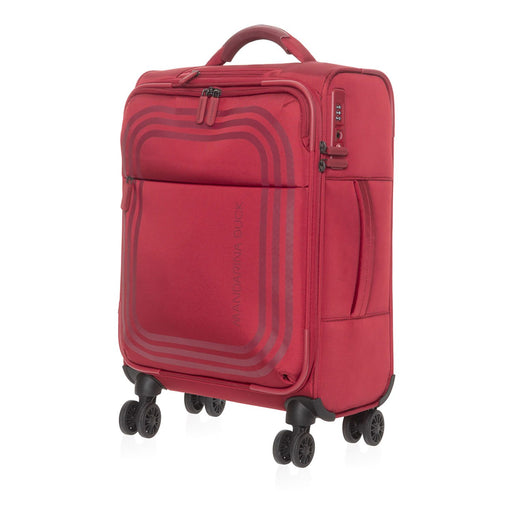 Mandarina Duck Bilbao Cabin Trolley Bag - Ruby Red - P10VAV0224G