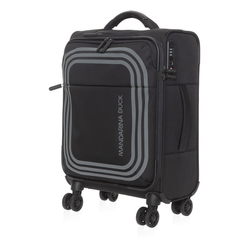 Mandarina Duck Bilbao Cabin Trolley Bag - Black - P10VAV02651