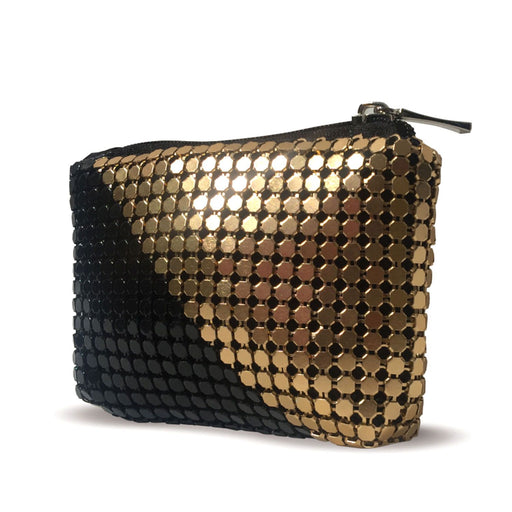 Moliabal Coin Purse - Gold and Black - 955A