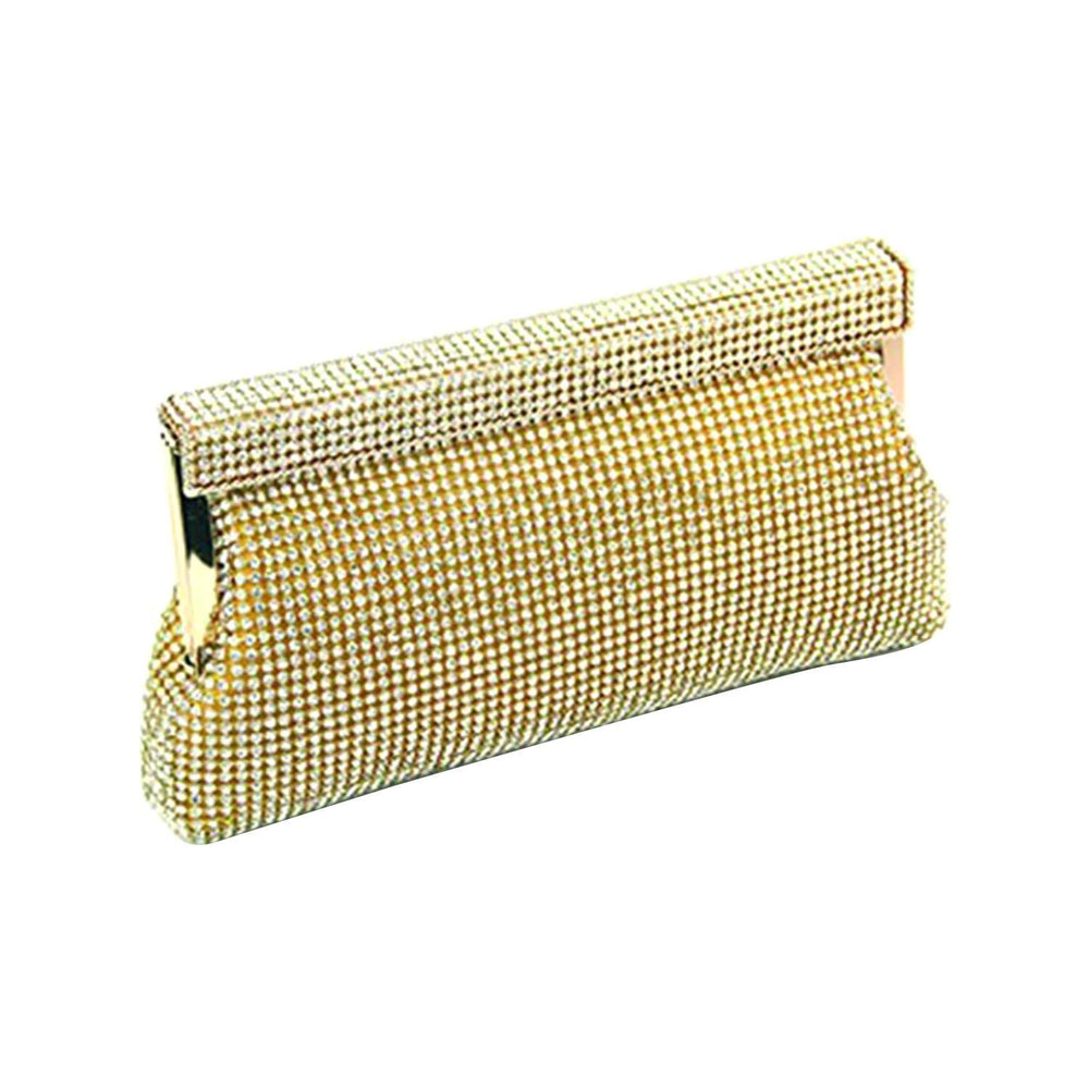Moliabal Zipper Clutch Bag with Box for Women - Gold - 949/B
