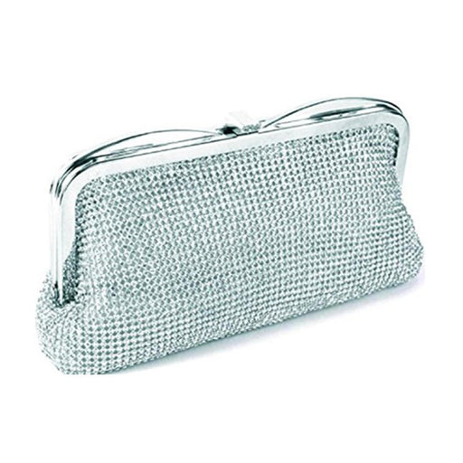 Moliabal Clutch with Box - Silver - 949/C