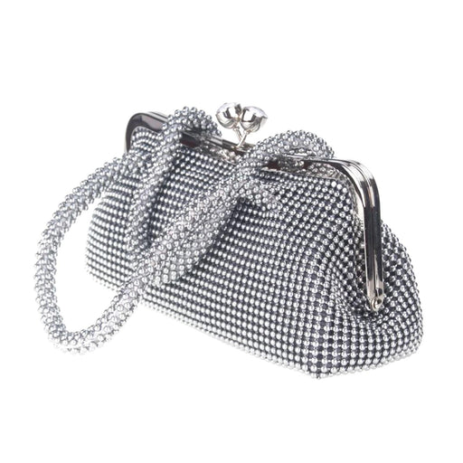 Moliabal Clutch with Handle and Box - Silver - 950/D