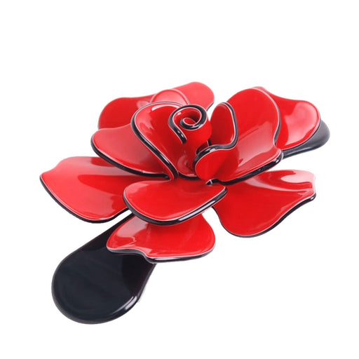 Moliabal Barrette - Red Passion and Black - MOL-384