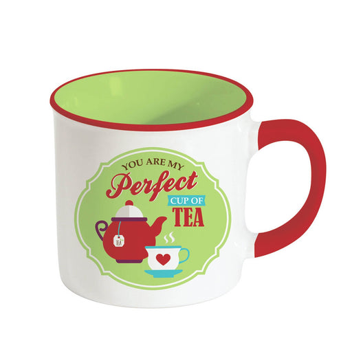 Easy Life Retro Break Tea Mug - Green, 300 ml - R1400/RBTG