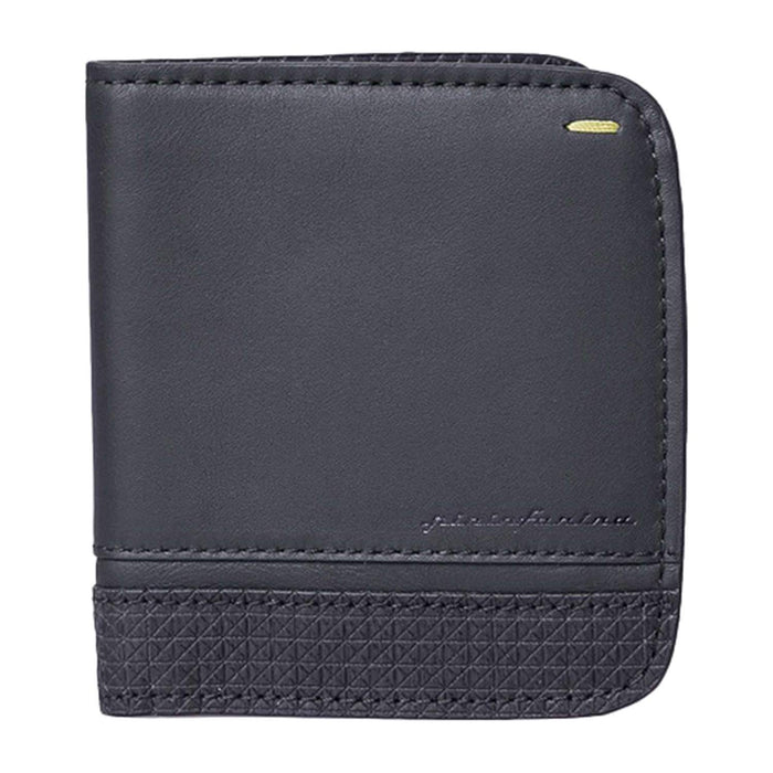 Pininfarina Folio Leather Vertical Wallet - Carbon - NPKFL00310