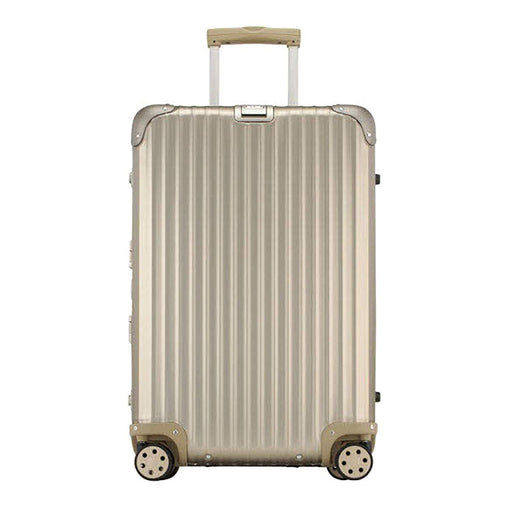 Rimowa Topas Titanium Luggage Trolley Bag - Gold - 920.63.03.4/923.63.03.4/924.63.03.4 T