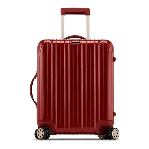 Rimowa Salsa Deluxe Luggage Trolley Bag - Oriental Red - 830.56.53.4/831.56.53.4 RED