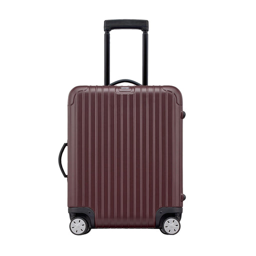 Rimowa Salsa Luggage Trolley Bag - Matt Carmon Red - 810.56.14.4/811.56.14.4 RED