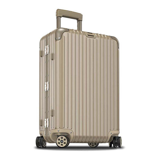 Rimowa Topas Titanium E-tag Luggage Trolley Bag - Gold - 924.63.03.5/923.63.03.5 T