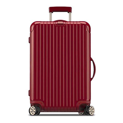 Rimowa Salsa Deluxe Electronic Tag Luggage Trolley Bag - Red Oriental - 831.63.53.5 RED