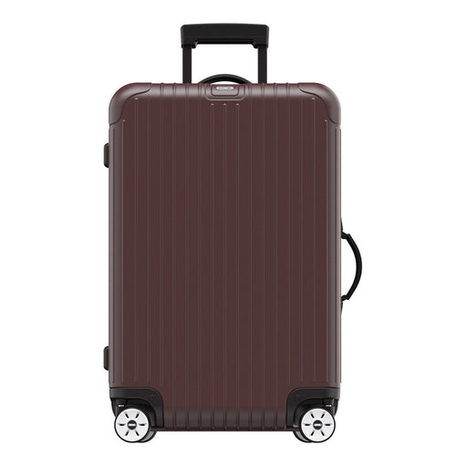 Rimowa Salsa Electronic Tag Luggage Trolley Bag - Matt Carmon Red - 811.63.14.5 RED