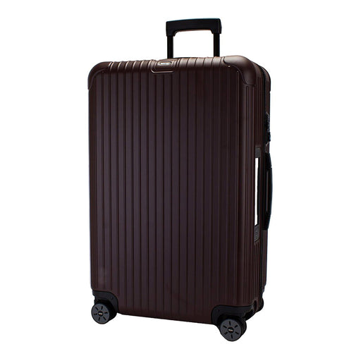 Rimowa Salsa Electronic Tag Luggage Trolley Bag - Matt Carmon Red - 811.70.14.5 RED