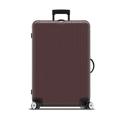 Rimowa Salsa Electronic Tag Luggage Trolley Bag - Matt Carmon Red - 811.77.14.5 RED