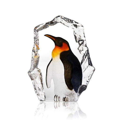 Maleras Wildlife Penguin Crystal Sculpture - Multicolour - 34272