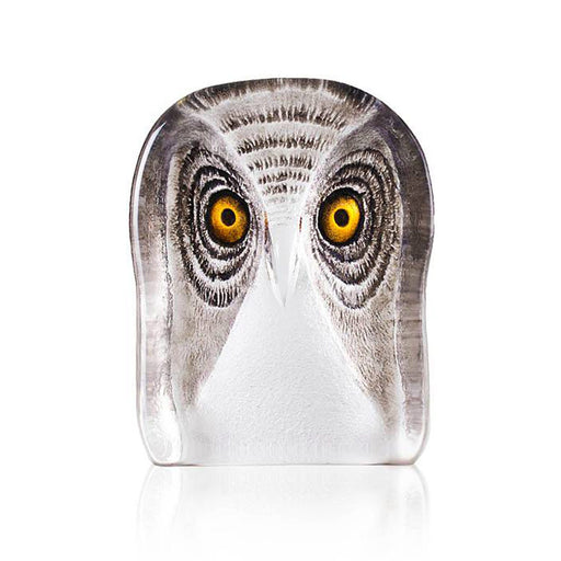 Maleras Wildlife Owl Crystal Sculpture - Brown, Medium - 34105