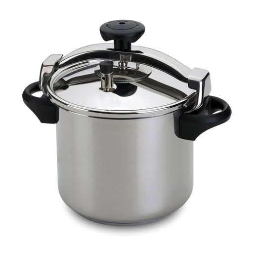 Silampos Pressure Cooker with Basket - Silver, 10L - 643122018610B
