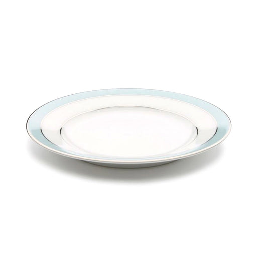 Dankotuwa Bella Plate -White and Blue - BELLAB-0512