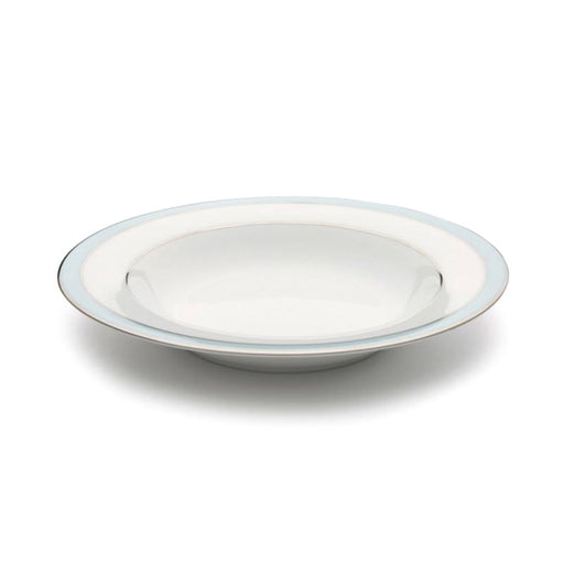 Dankotuwa Bella Soup Bowl - White and Blue - BELLAB-1110