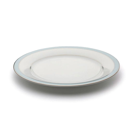 Dankotuwa Bella Meat Plate - White and Blue - BELLAB-0515