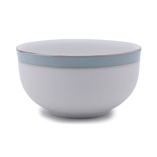 Dankotuwa Bella Bowl - White and Blue - BELLAB-0450
