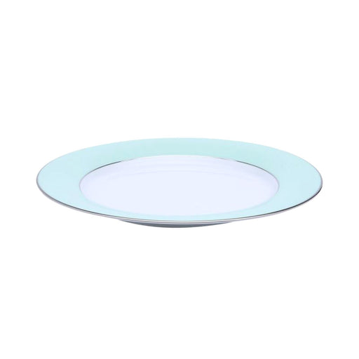 Dankotuwa Meldy Chop Plate - White and Green - MELDYG-0525