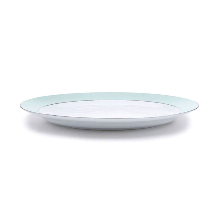 Dankotuwa Meldy Platter - White and Green, 1390 g - MELDYG-0543