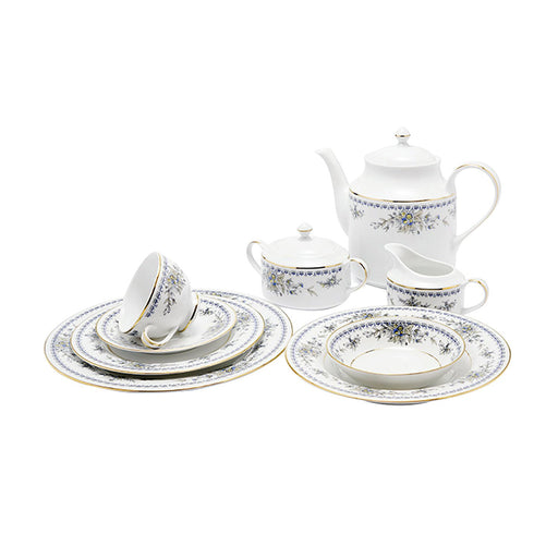 Dankotuwa Treasure 95 Piece Dinner Set - TREAS-DS/95G