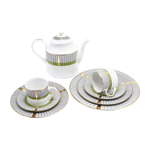 Dankotuwa Yasu 83 Piece Dinner Set - YASU-83DS
