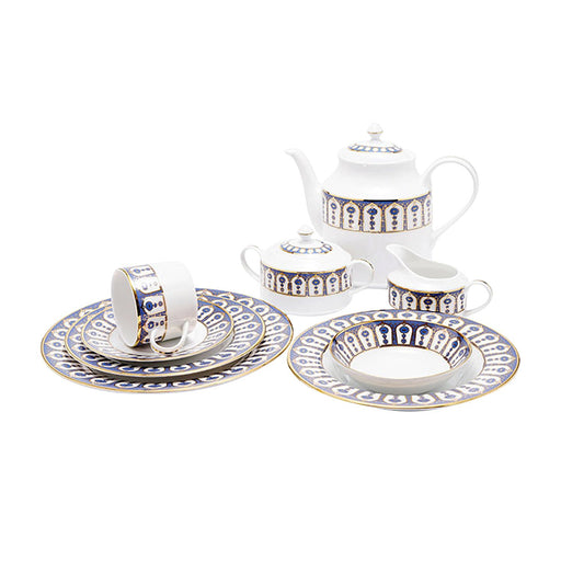 Dankotuwa Pandora 83 Piece Dinner Set - PAND-83DS