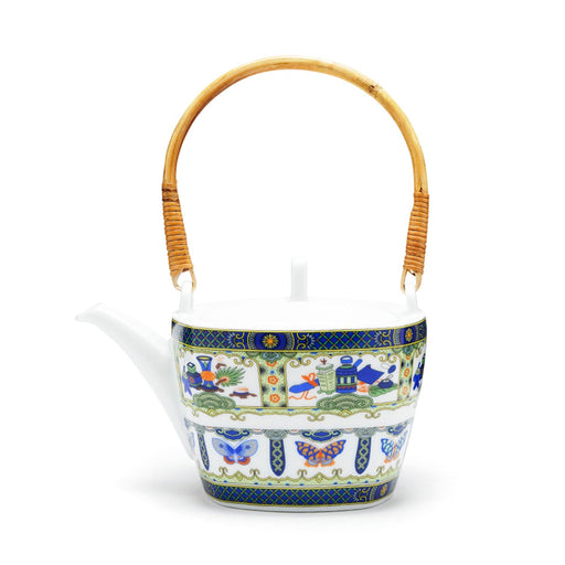 Dankotuwa Fernao Tea Pot - Multicolour - FRNA-5924