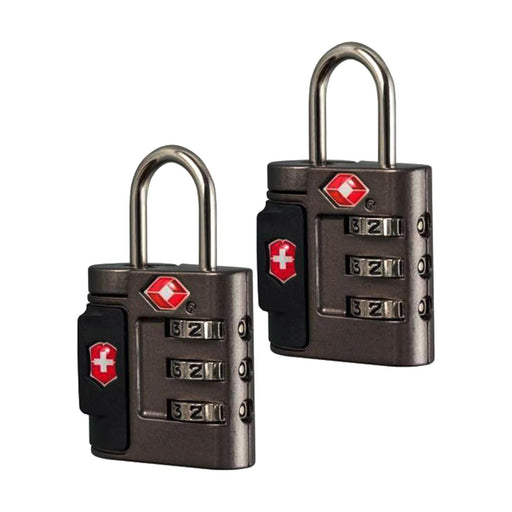 Victorinox Accessories 4.0 Lock Set - Black - 31370001/31170001