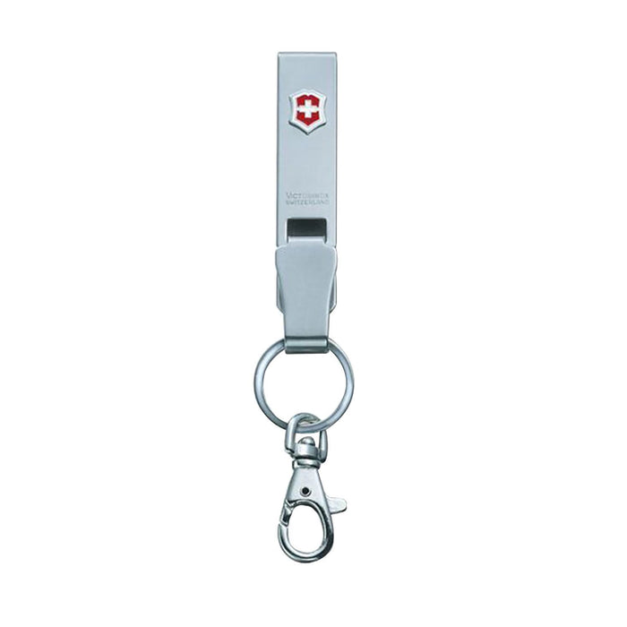 Victorinox Swiss Army Belt Hanger with Snap Hook - Silver - 4.1858