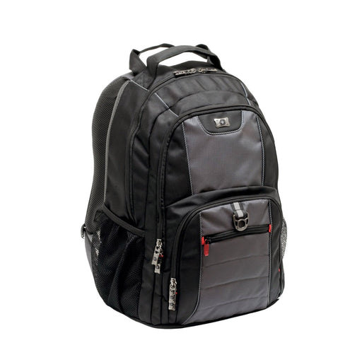 Wenger Pillar Laptop Backpack - Black and Grey - 600633
