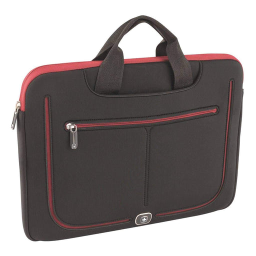 Wenger Resolution Laptop Bag - Black and Red - 600674