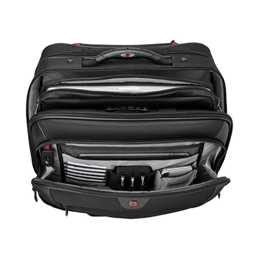Wenger Potomac Double Gusset Wheeled Bag - Black - 600661