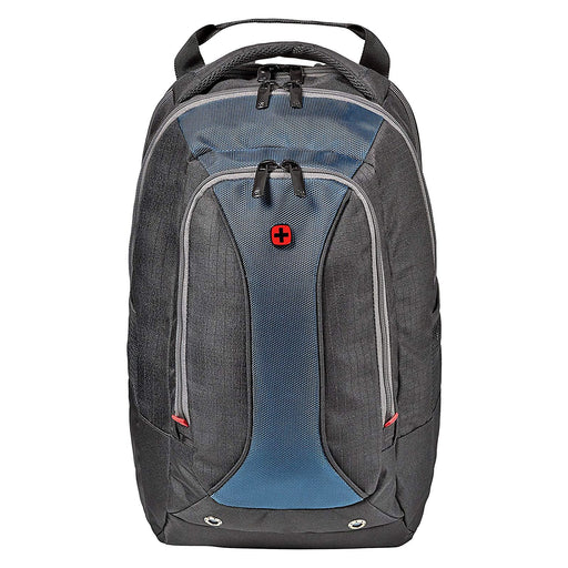 Wenger Air Runner Essential 14 Inch Laptop Backpack - Black and Blue - 604432