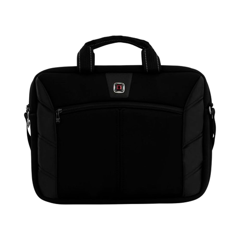 Wenger Resolution Laptop Bag - Black and Red - 600653