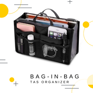 Bag in Bag - Tasorganizer | Grijs